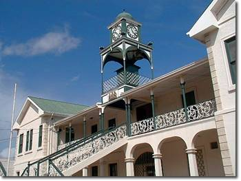 Courthouse in Belize City