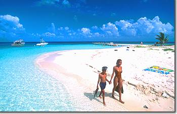 The Beach At Goff S Caye Off Of Belize City